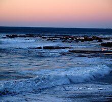 Coalcliff sunset by Jacqe Matelot