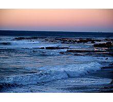 Coalcliff sunset Photographic Print