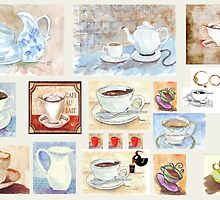 Tea/Coffee collage by Maree  Clarkson