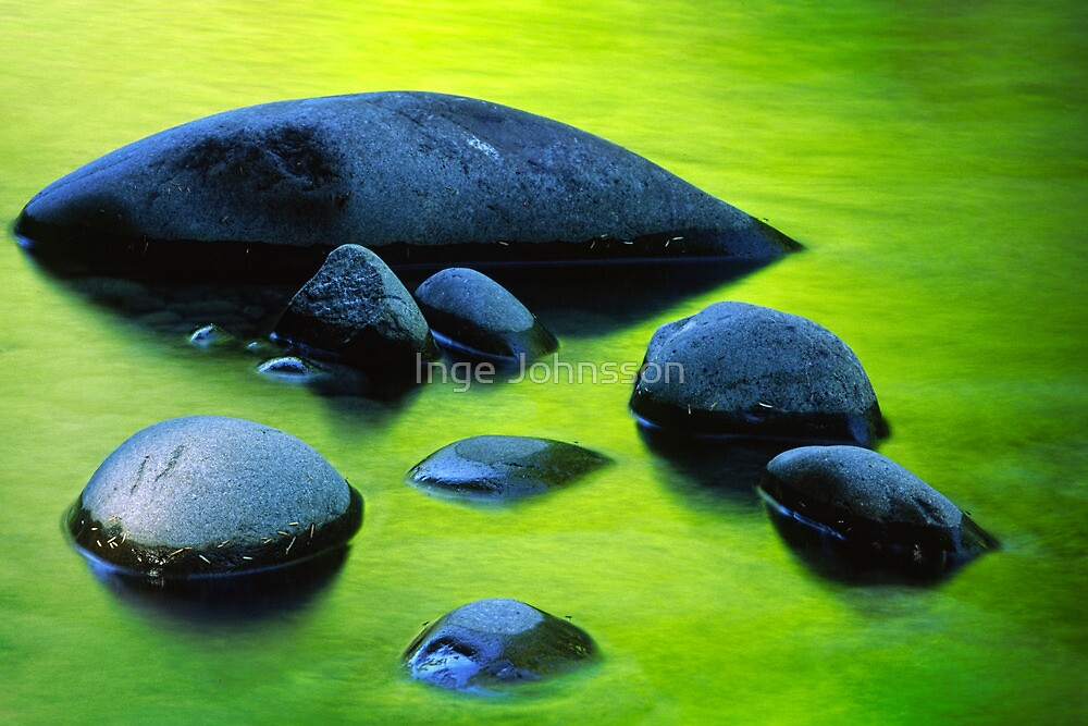 River Rocks by Inge Johnsson
