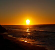 Sun rising at Coalcliff by Jacqe Matelot