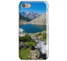 Lower Headwall Lake iPhone Case/Skin