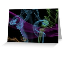 up in smoke Greeting Card