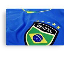 Go Brazil Canvas Print