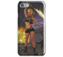 Fire Giant, part of the Giants series iPhone Case/Skin