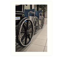 Your Chariot Awaits Art Print
