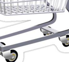 STI Shopping Cart Wing Sticker