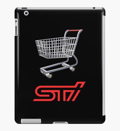 STI Shopping Cart Wing iPad Case/Skin