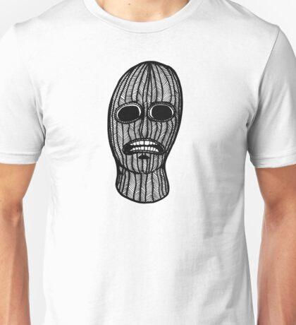 Skull in a Ski Mask Unisex T-Shirt