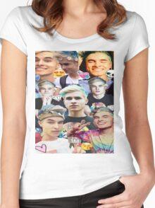 Pastel Kiki Women's Fitted Scoop T-Shirt