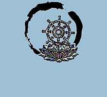Lotus Wheel Enso - Gentleness Unisex T-Shirt