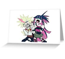 Panty and Stocking  Greeting Card