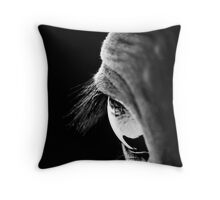 What About Now? Throw Pillow