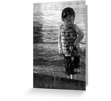 Water Child Greeting Card