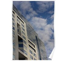 Skyscape in Glass Poster