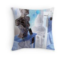 Contemplation: the value of things Throw Pillow