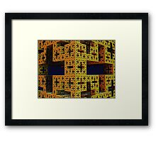 ©DA FS X Cube V1.2AM. Framed Print