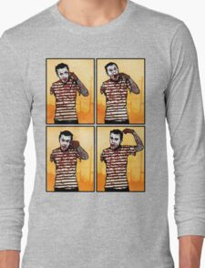 The Zombie Mime! Long Sleeve T-Shirt