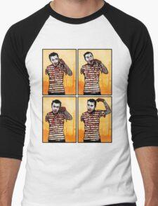 The Zombie Mime! Men's Baseball ¾ T-Shirt