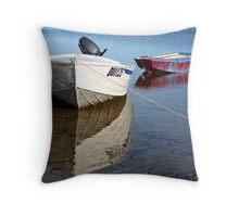 Fishermans Bay Throw Pillow