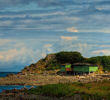 Shack Island - Nanaimo, BC by Rick Ruppenthal
