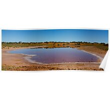 Outback Lake Poster