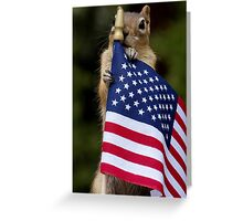 The Little Patriot Greeting Card