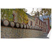 Winery Frontage, Yalumba Cellar Door Poster