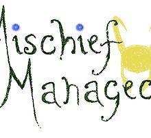 Mischief Managed  by cribstina