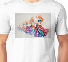 belly dancer in motion Unisex T-Shirt