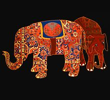 """Two Persian elephants"" by Mary Taylor"