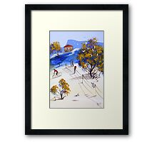 A letter to you Framed Print