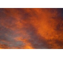 marbled sky. i Photographic Print