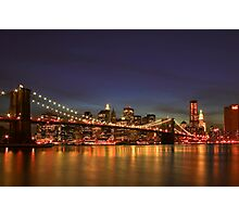 City of Lights Photographic Print