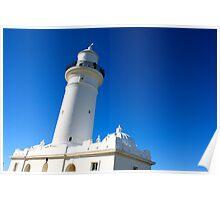 The Big Blue Sky - Macquarie Light  Poster