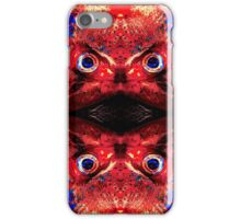 Angry Fish Face #02 iPhone Case/Skin