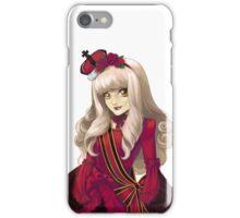 Red Classic Gothic Lolita iPhone Case/Skin