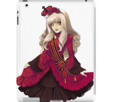 Red Classic Gothic Lolita iPad Case/Skin