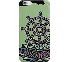 Lotus Wheel Enso - Gentleness iPhone Case/Skin