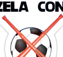 Ban Football from Vuvuzela Concerts! Sticker