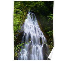 Zigzag Falls Poster