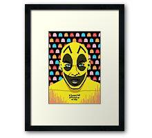 The Yellow Gamer Framed Print