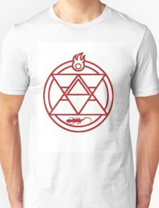 Roy Mustang Alchemy Fire Transmutation circle T-Shirt