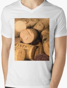 Cork jumble Mens V-Neck T-Shirt