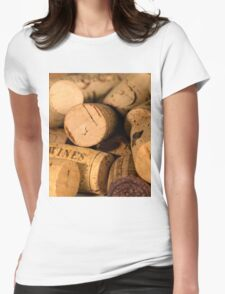 Cork jumble Womens Fitted T-Shirt
