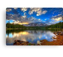 Lake Irwin Sunset Canvas Print