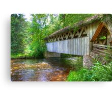 Covered Footbridge-2 Canvas Print
