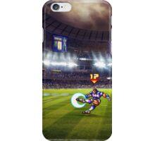 Soccer Brawl pixel art iPhone Case/Skin