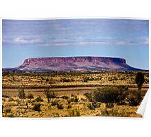 A flattop Mesa Poster