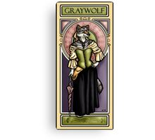 Graywolf Canvas Print
